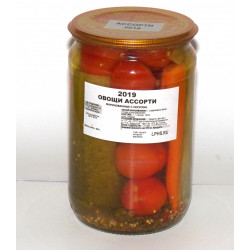 Овощи ассорти (0,7 л.)